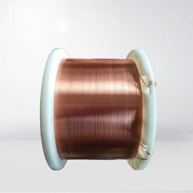 0.025 - 3.0mm Self Bonding Wire Rectangular Enameled Copper Wire Polyamide Imide Covered