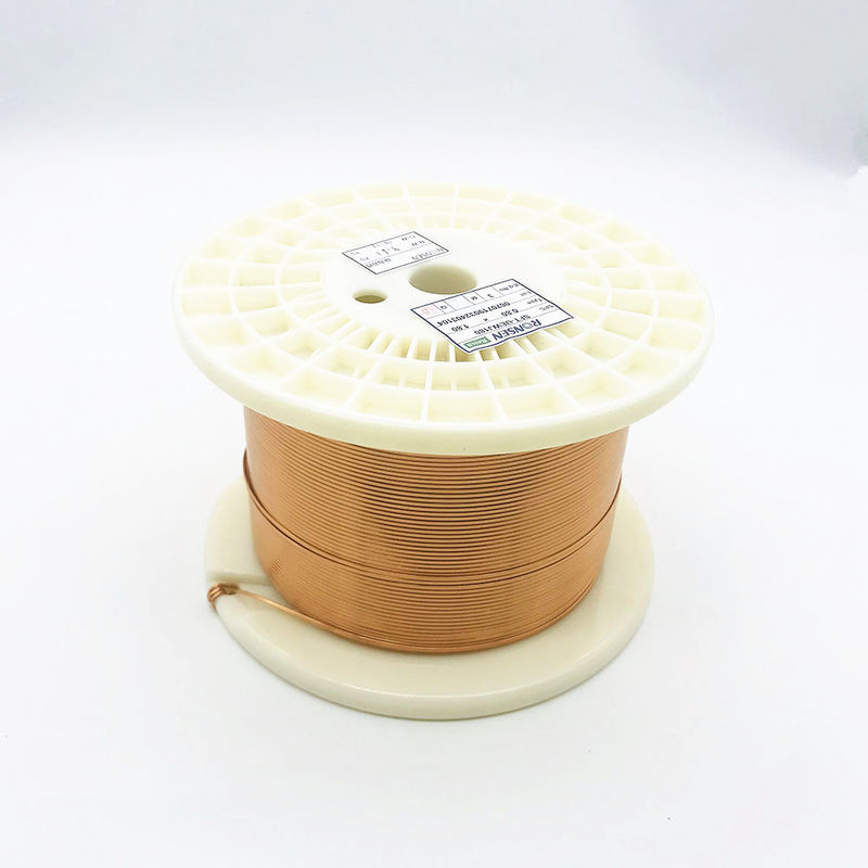 Class 220 0.9mm * 0.4mm Rectangular Copper Wire Square Magnet Winding Wire